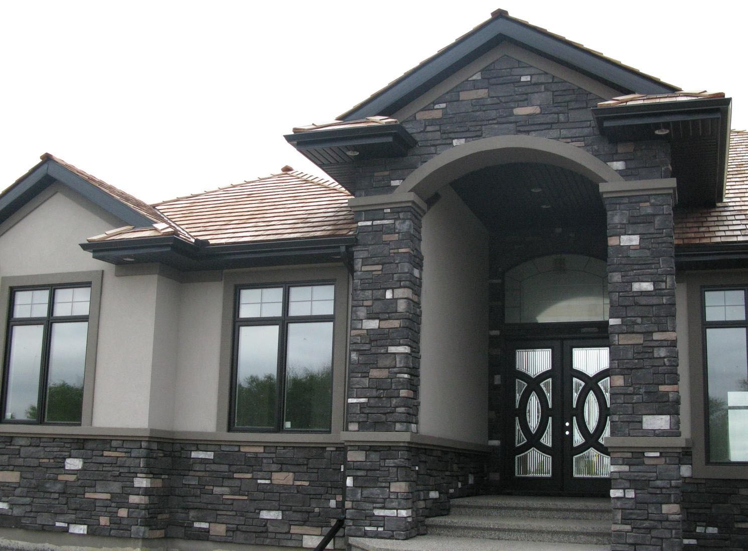 The Fagenstrom Co Black Rundle Country Ledgestone