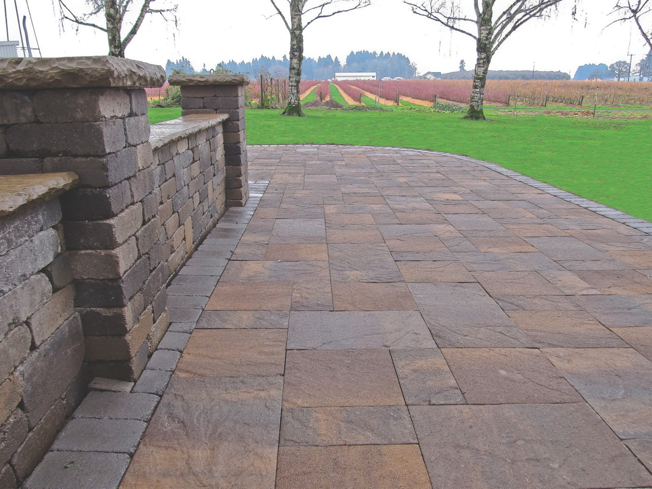 Slate Stone Slabs : The fagenstrom co columbia slate patio stone great