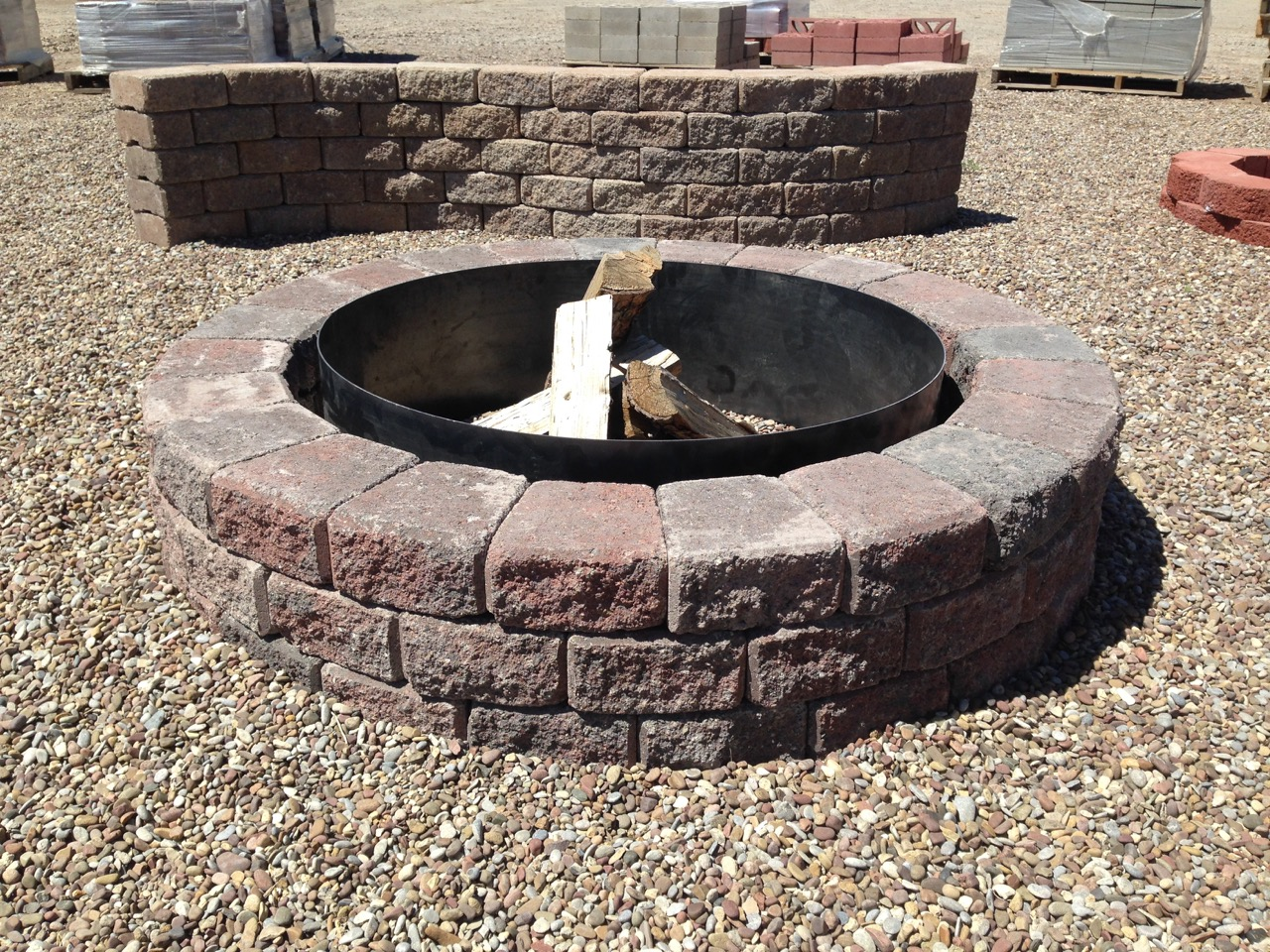 The fagenstrom co fire pit kits great falls mt 406 for Precast concrete outdoor fireplace kits