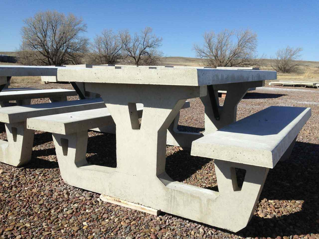 Concrete Picnic Tables And Benches